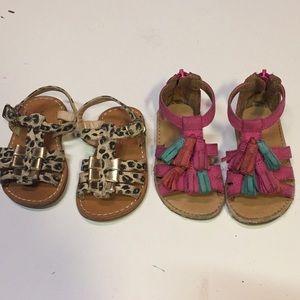 Other - Girls summer sandal bundle